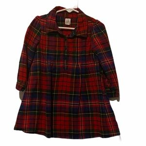 Baby Gap Plaid Dress